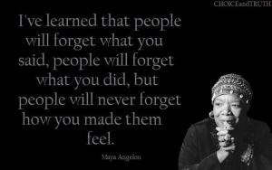 Maya Angelou quote 2