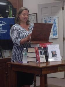 Jodi Paloni reading