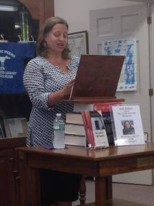 Jodi Paloni reading